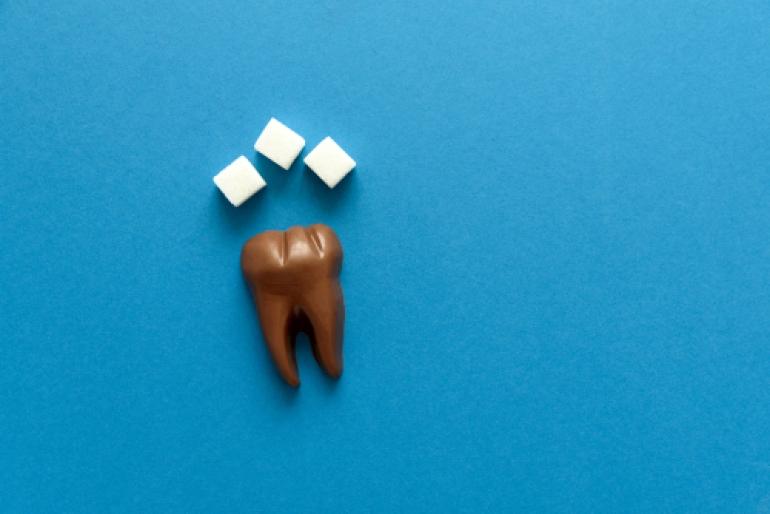 C2(神経近くまで侵された虫歯)